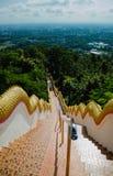De la escalera colina abajo Foto de archivo libre de regalías
