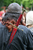 De la espada parte posterior encendido Fotos de archivo