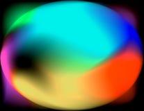 De la falta de definición myst colorido Fotografía de archivo