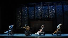 De la familia de la reunión- un acto en segundo lugar de los eventos del drama-Shawan de la danza del pasado Foto de archivo libre de regalías