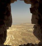 De la fortaleza de Masada Fotografía de archivo libre de regalías