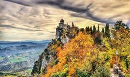 DE La Fratta of Cesta-Toren royalty-vrije stock afbeeldingen