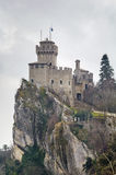 DE La Fratta of Cesta-toren, San Marino Royalty-vrije Stock Foto