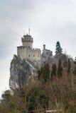 De La Fratta or Cesta tower, San Marino Royalty Free Stock Photography