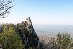 De La Fratta ou Cesta, São Marino Fotografia de Stock