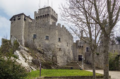 De La Fratta ou torre de Cesta, São Marino Fotos de Stock Royalty Free