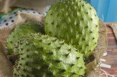 De la guanábana el graviola también, guyabano es la fruta del Annona muricata fotografía de archivo libre de regalías