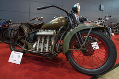 ` de la línea aerodinámica del ` de Henderson KJ de la motocicleta, 1931 Imagenes de archivo