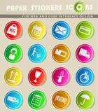De la livraison icônes simplement Image stock