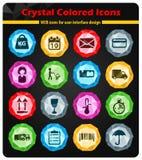 De la livraison icônes simplement Photographie stock libre de droits