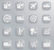 De la livraison icônes simplement Photo stock