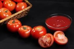 De la maturité au ketchup photographie stock