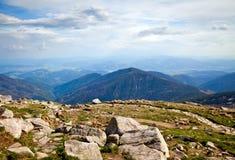 De la montagne Chopok dans Tatras inférieur Photo libre de droits