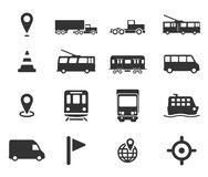 De la navegación iconos simplemente Foto de archivo