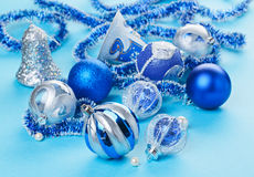 De la Navidad todavía de las decoraciones vida Imagen de archivo libre de regalías