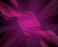 De la púrpura fondo swirly Fotos de archivo libres de regalías