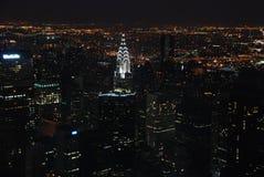 De la parte alta por noche Imagen de archivo