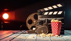 De la película de la producción todavía de los accesorios vida retra Imagen de archivo libre de regalías