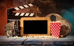De la película de la producción todavía de los accesorios vida retra Imágenes de archivo libres de regalías