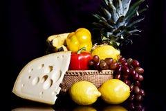 De la piña todavía del queso vida Imágenes de archivo libres de regalías