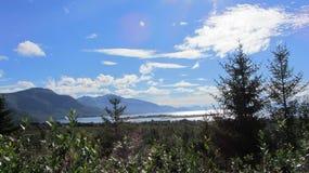 De la place de parking Sigerfjord Norvège Image libre de droits