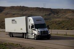 De la prima camión semi foto de archivo