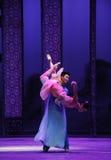 De la princesa del abrazo- acto en segundo lugar de los eventos del drama-Shawan de la danza del pasado Fotos de archivo libres de regalías