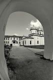 De la puerta del monasterio Foto de archivo