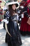 De la Renaissance jeune fille loyalement Photos stock