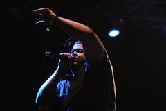 De La Soul, uma faixa americana do trio do hip-hop Imagem de Stock Royalty Free