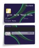 De la tarjeta de crédito Imagen de archivo libre de regalías