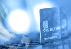 De la tarjeta de crédito Imagen de archivo