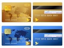 De la tarjeta de crédito ilustración del vector