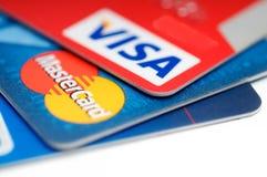 De la tarjeta de crédito Fotos de archivo libres de regalías