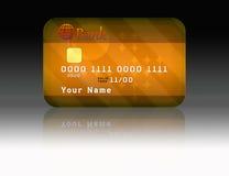De la tarjeta de crédito libre illustration