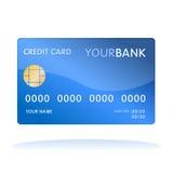 De la tarjeta de crédito aislada Foto de archivo