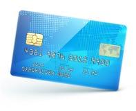 De la tarjeta de crédito azul stock de ilustración