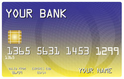 De la tarjeta de crédito para su batería libre illustration