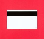 De la tarjeta de crédito - posterior Imágenes de archivo libres de regalías