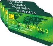 De la tarjeta de crédito Fotografía de archivo libre de regalías