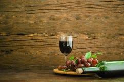 De la uva todavía del vino vida Imagenes de archivo