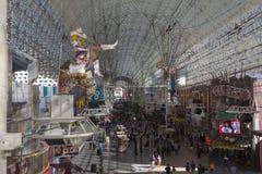 De la visión calle de Fremont abajo de la posición elevada Foto de archivo