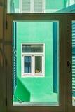 De la visión opiniones de Curaçao abajo Imágenes de archivo libres de regalías