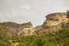 De la voie de pierre de tronc dans le são Paulo photographie stock libre de droits