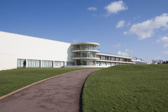 De La Warr Pavilion, Bexhill. East Sussex, Modernist Building, Architects Erich Mendelsohn and Serge Chermayeff Royalty Free Stock Photo