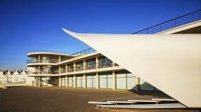 DE La Warr Pavilion, Bexhill, East Sussex, Engeland royalty-vrije stock foto's