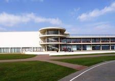 DE La Warr Pavilion, Bexhill op Overzees stock afbeelding