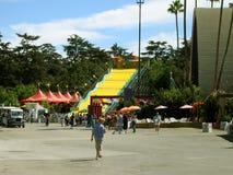 De la zona de la diversión, el condado de Los Angeles justo, Fairplex, Pomona, California fotografía de archivo