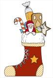 De laars van Kerstmis stock illustratie