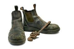 De Laarzen & de Moersleutel van Wook Royalty-vrije Stock Afbeeldingen